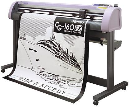 Máy cắt chữ decal Mimaki FX series II